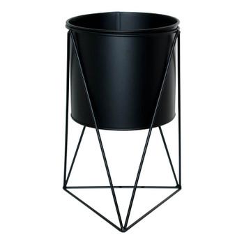 Tri Black Pot Stand (31cm)