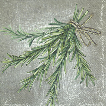 Serviette - Herbal Rosemary (33x33cm)