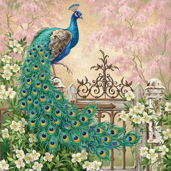 Serviette - Noble Peacock