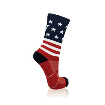 Socks - USA Flag 4-7