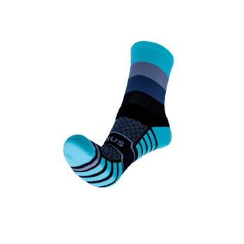 Quattro Dusk Trail Run Socks 4-7