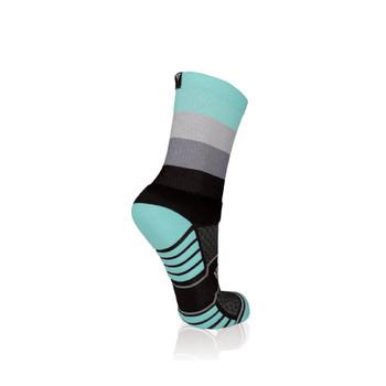 Quattro Dusk Trail Run Socks 8-12