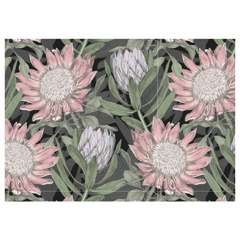 PVC Placemat - Shabby Style Protea