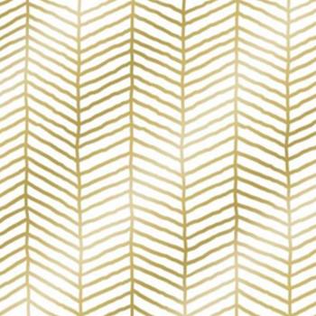 Serviette - Metro Gold (33x33cm)