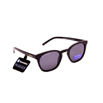 Plastic Frame Black / Black Polarized Lens