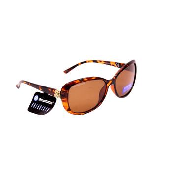Jacki O Tort Plastic Frame / Brown lenses