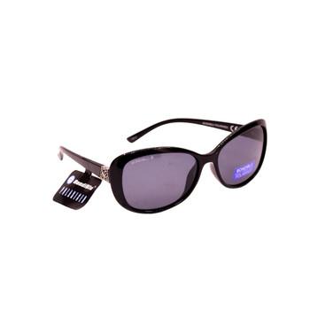 Jacki O Black Plastic Frame / Black Lenses