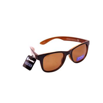 Crystal Brown & Black / Brown Lenses