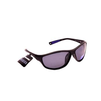Sport Wrap / Black Plastic Frame / Black Smoke Lenses