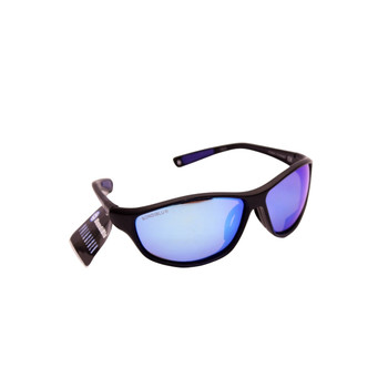Plastic Frame Black / Ice Blue Lenses