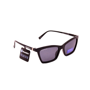 Plastic Frame Shiny Black / Smoke Lenses