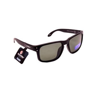 Black Plastic Frame / Black Lenses