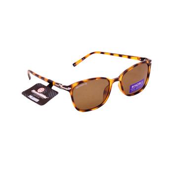 Brown Tortoise Shell / Amber Lenses