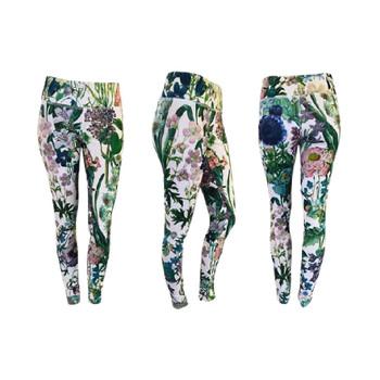 Leggings - Pansies
