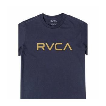 Big RVCA SS Tee - Moody Blue