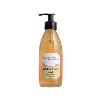Honey Hand & Body Wash 250ml (Glass)