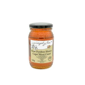 Simply Bee Raw Fynbos Honey 500g