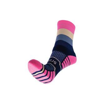 Quauttro Neopolitan Trail Running Socks - Size: 4-7