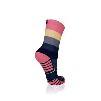 Quauttro Neopolitan Trail Running Socks - Size: 8-12