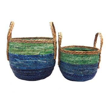 Woven Basket - Beach Life