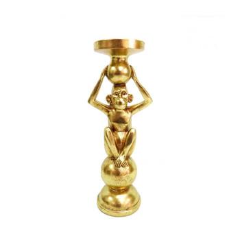 Candleholder - Cornelius in Gold - 32cm