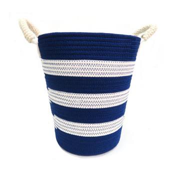 Woven Basket - Blue Beauty  -30x33cm