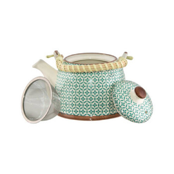 Green Moroccan Fusion Tea Pot