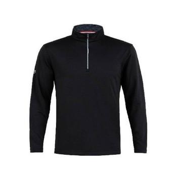 Men's Flex Half Zip Pullover Black