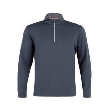 Men's Flex Half Zip Pullover Dark Grey