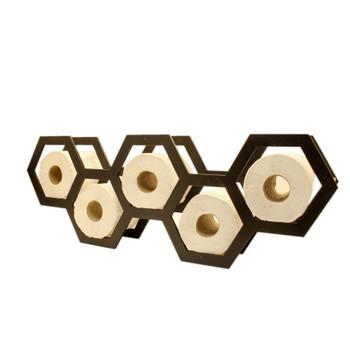 Toilet Paper Holder - Hexagon Shaped
