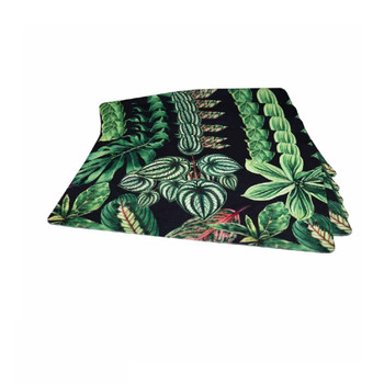 Garden Leaves Set of 6 PVC and Felt Placemats