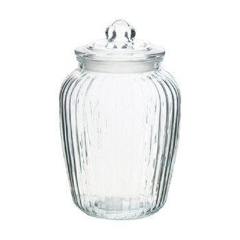Glass Cookie Jar With Lid (24cm /2000ml)