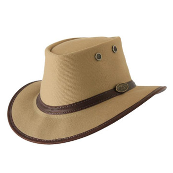 Cotton Canvas Hat - Packer  in Sand