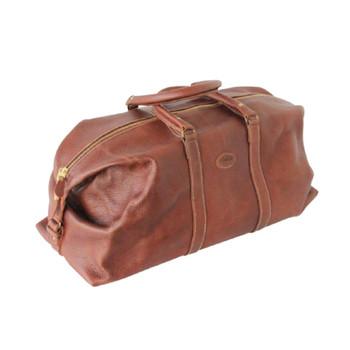 Leather Weekend Bag - Sahara