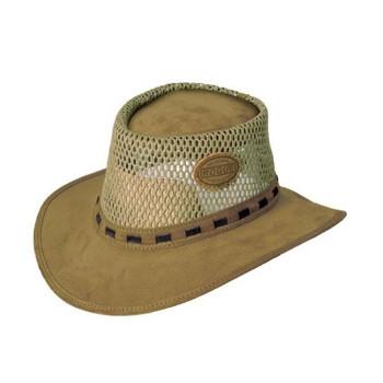 Suede Breezy Hat - Khaki