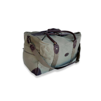 Weekender Bag in Tin Cloth