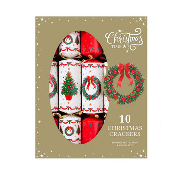 10 x Family Tree And Wreath Crackers