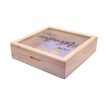 Our Adventure Wooden Money Box With Insert