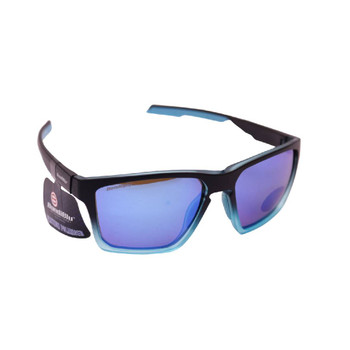 Plastic Frame Matt Black Blue, Blue Rub, Smoke Blue Revo Polarized