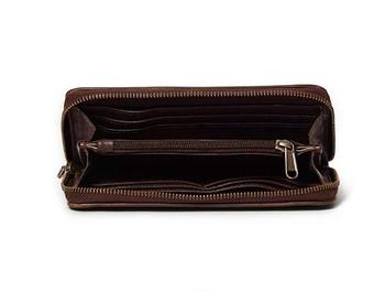 Hayley Ladies Leather Zip around Wallet