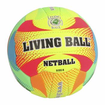 Living Ball - Netball Ball - Neon (Size 5)