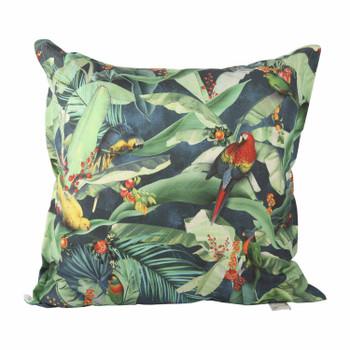 Scatter Cushion - Indigo Macaw (60x60cm)
