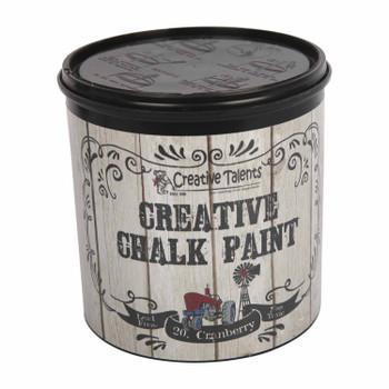 Creative Chalk Paint 1L Cranberry