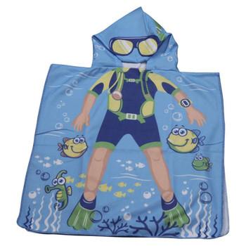 Beach Cloak Sea Diver
