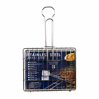 S/S Sandwich Toaster Braai Grid