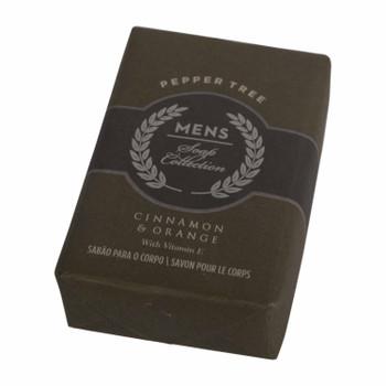 Men's Soap Collection 150g Cinnamon & Orange
