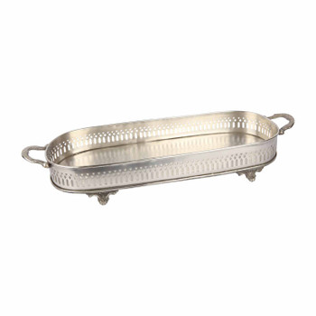 Silver-plated Perfume Tray - Victiorian