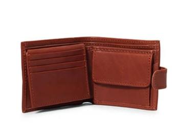 James Mens Leather Bifold Wallet