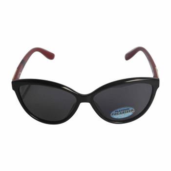 Bondi Blue Sunglasses Black Burgundy Cat-eye