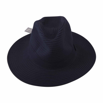 Safari Womens Navy 58cm Hat